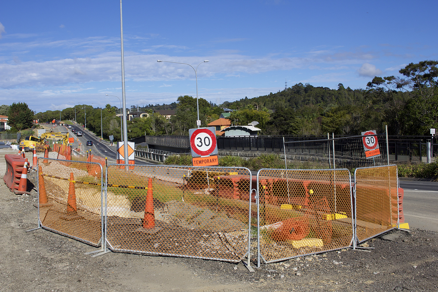 Albany Highway Temporary Fencing Ghl Group