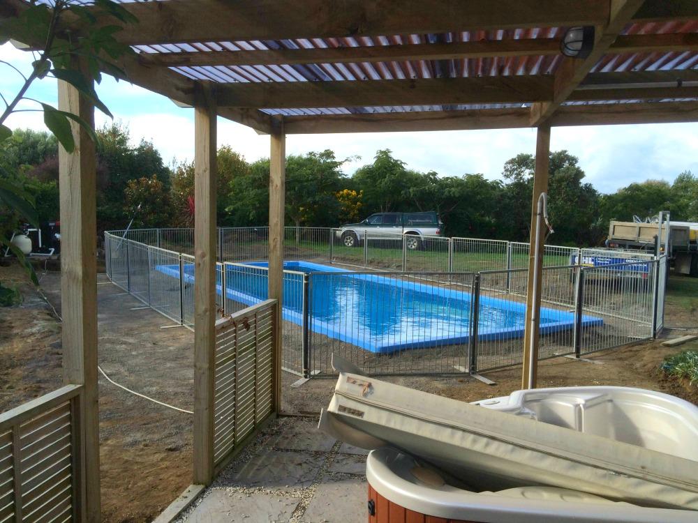 Temporary pool fence waiau pa ghl temp